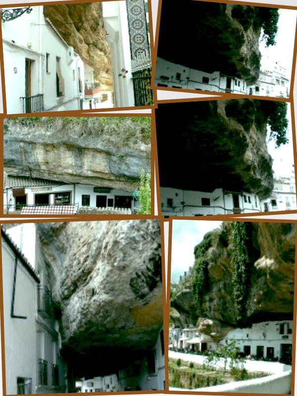 Setenil de las Bodegas y las construcciones semitroglodíticas