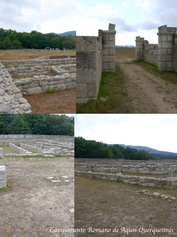Campamento romano Aquis Querquennis