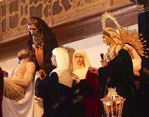 Santa Marta. Cristo de la Caridad y misterio (Ortega Bru, 1952)