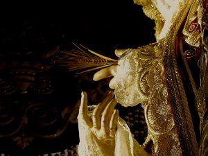 Virgen de Regla (detalle). Hermandad de Los Panaderos