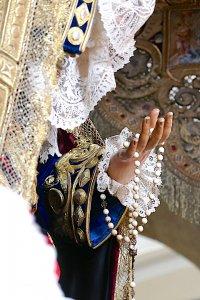 Virgen de la Angustia (Juan de Astorga, S. XIX). Hermandad de Los Estudiantes