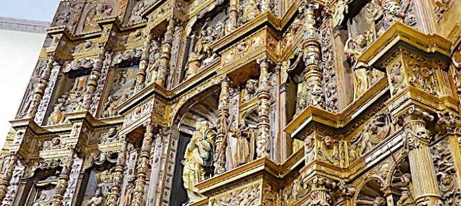 Tarancón y el retablo  plateresco de la iglesia de Nuestra Señora de la Asunción