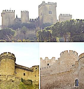 Tres lugares cercados de murallas. Castillos de Almodóvar del Río, Mombeltrán y Villena