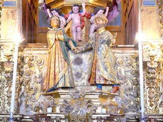 Erminda y Jayón. Santa María del Ara