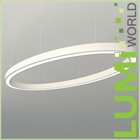 LUMIworld Design Leuchte Oval 240 x 120 cm