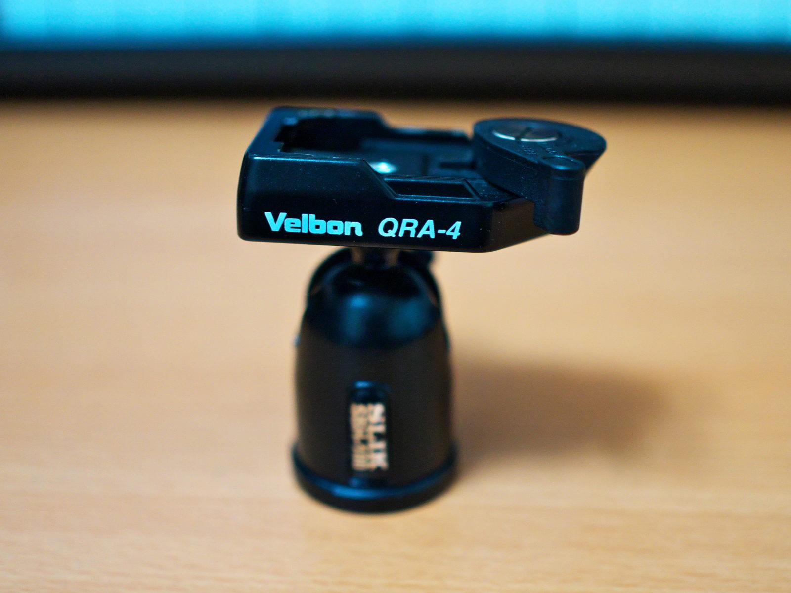 SLIK SBH-100 + Velbon QRA-4