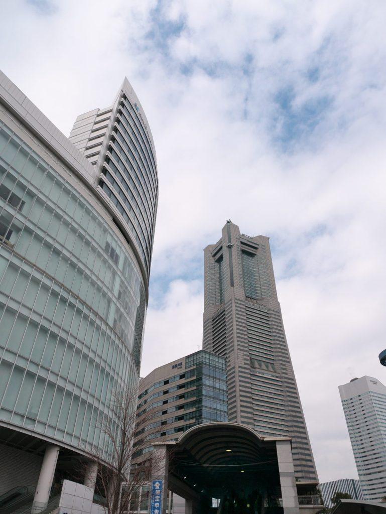 桜木町駅からランドマークタワー