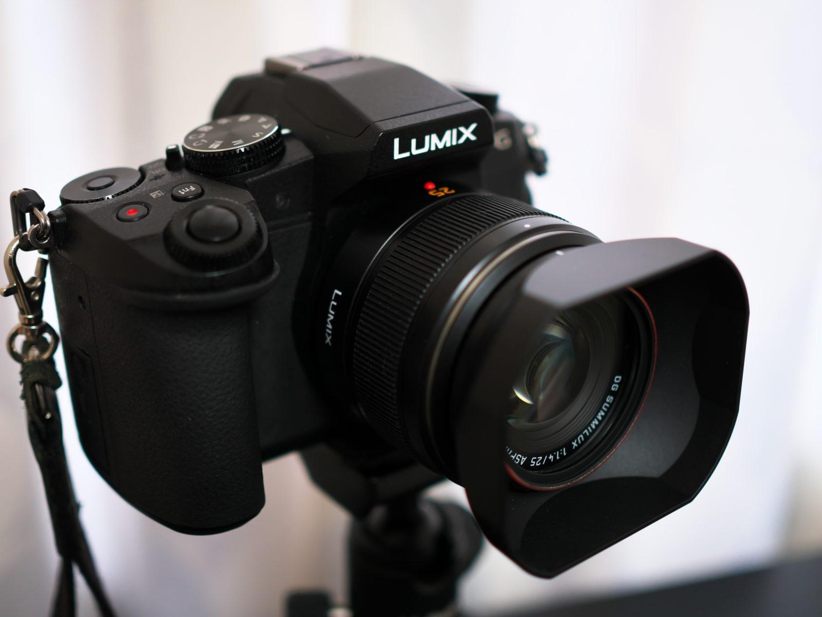 LUMIX G8 + LEICA 25mm/F1.4