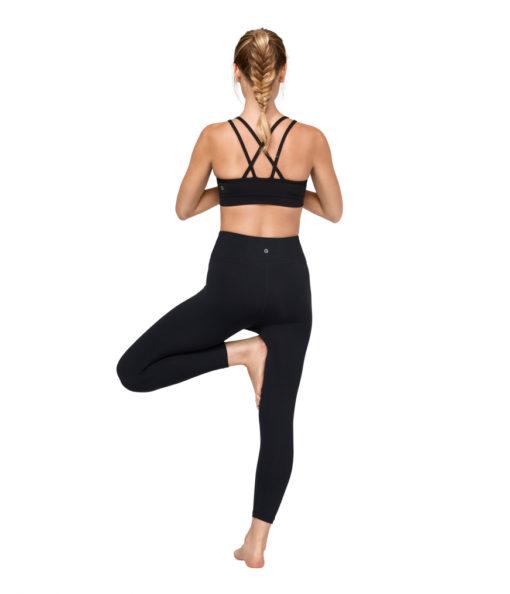 Manduka cross strap bra black yoga-bh