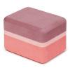 Manduka recycled foam yoga mini block clay