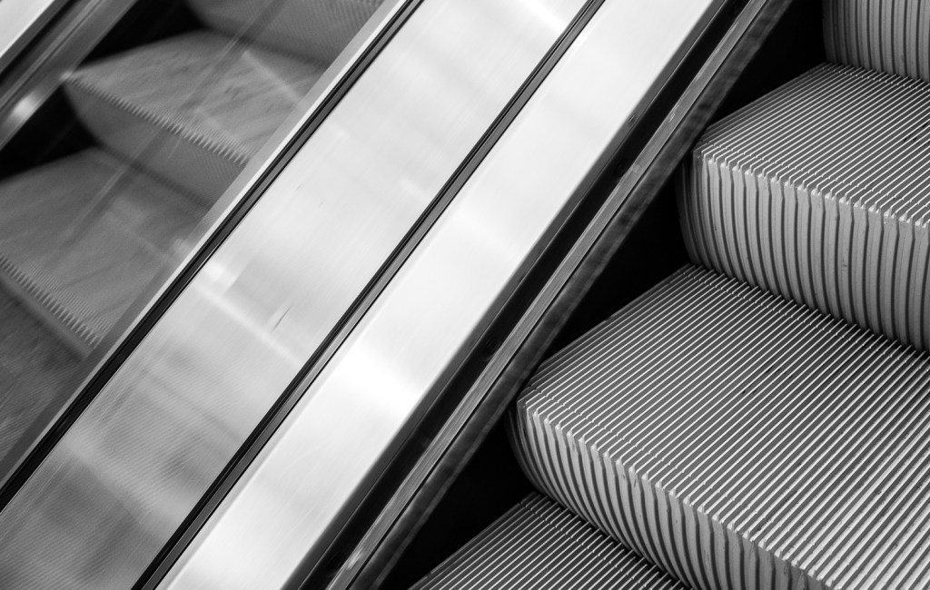 Escalators, Den Haag