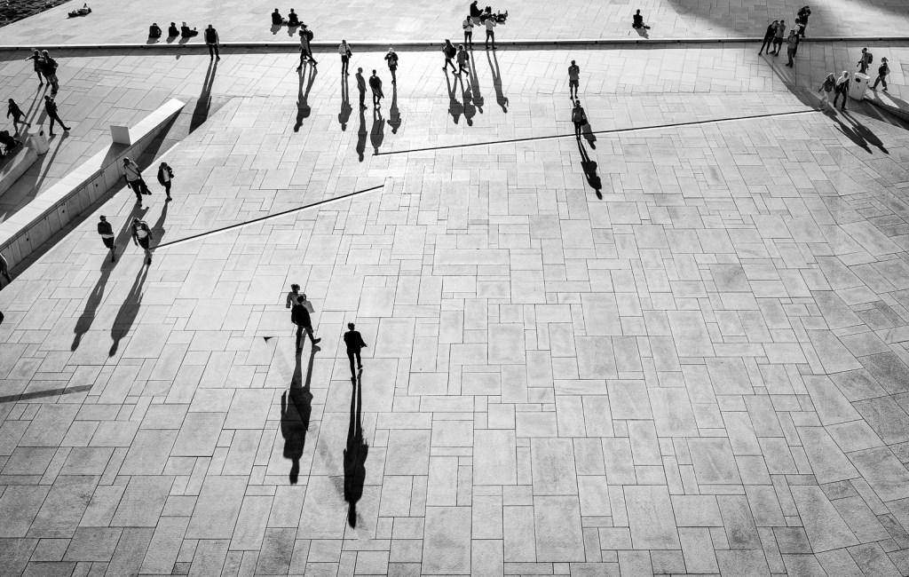 Square people