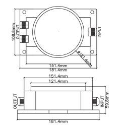 50w waterproof toroidal transformer 3 [ 900 x 900 Pixel ]
