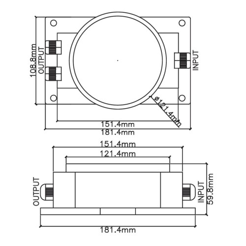 small resolution of  50w waterproof toroidal transformer 3