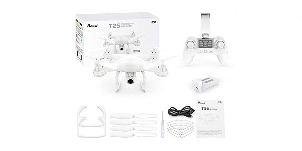 Potensic T25 Drone: Quality, Budget Flyer