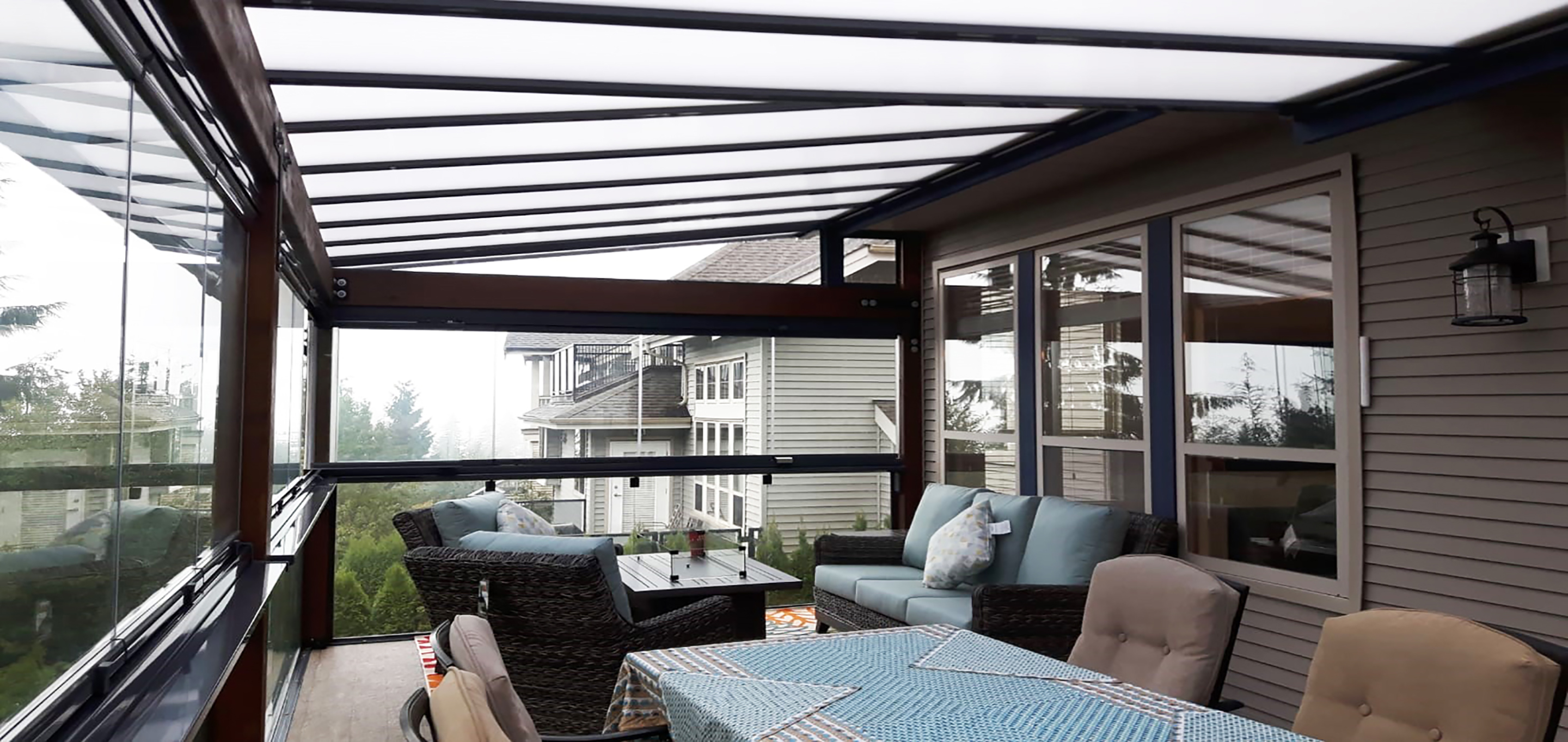 patio cover options in canada | lumon