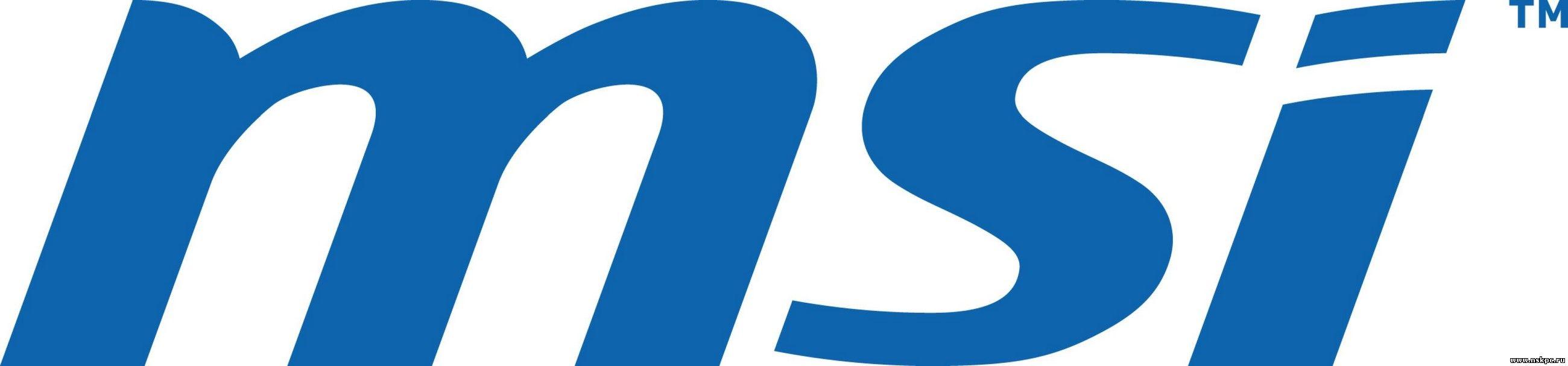 MSI логотипі