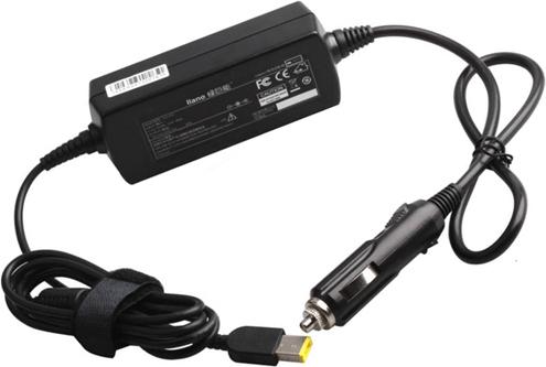 Процесс использования автомобильного адаптера питания для зарядки ноутбука