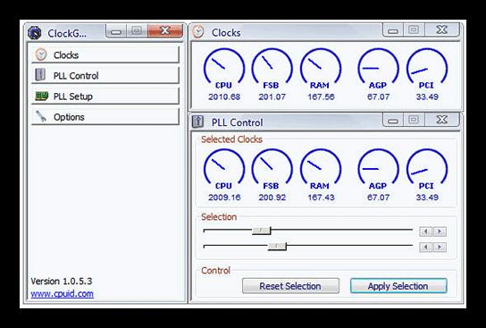 ClockGen'de Intel işlemci ivmesi