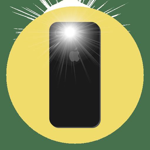 Jak zapnout blesk při volání iPhone