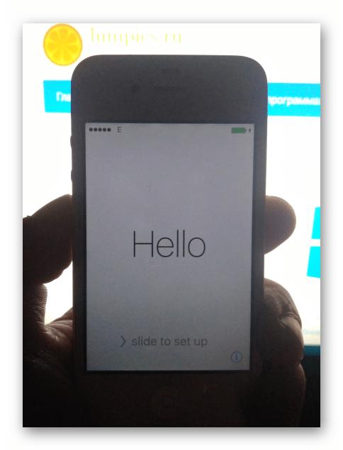 Apple iPhone 4S börjar iOS efter apparatens firmware via iTunes