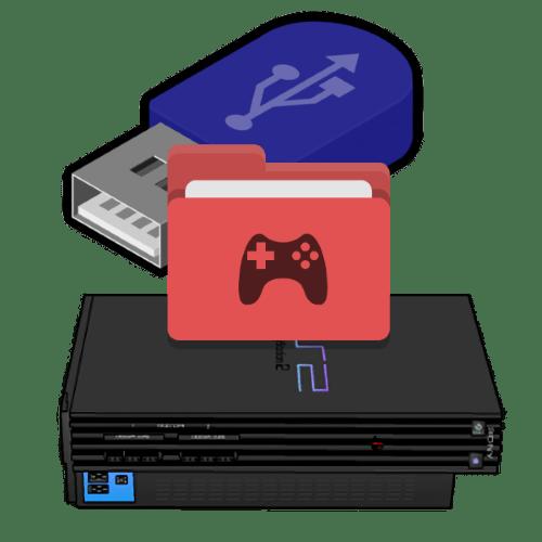 PS2-де флэш-дискіден ойындарды қалай іске қосуға болады