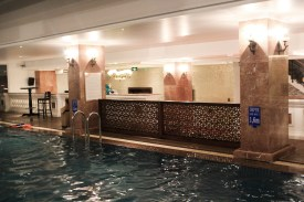 Swimming pool on the highest floor