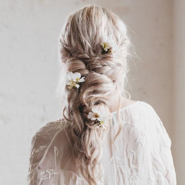 Poppy Wedding Flower Hair Pin