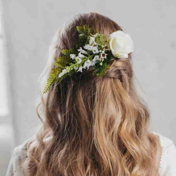 Zara Botanical Hair Clip