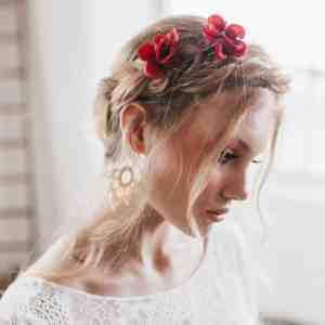 Lottie Hydrangea Hair pin