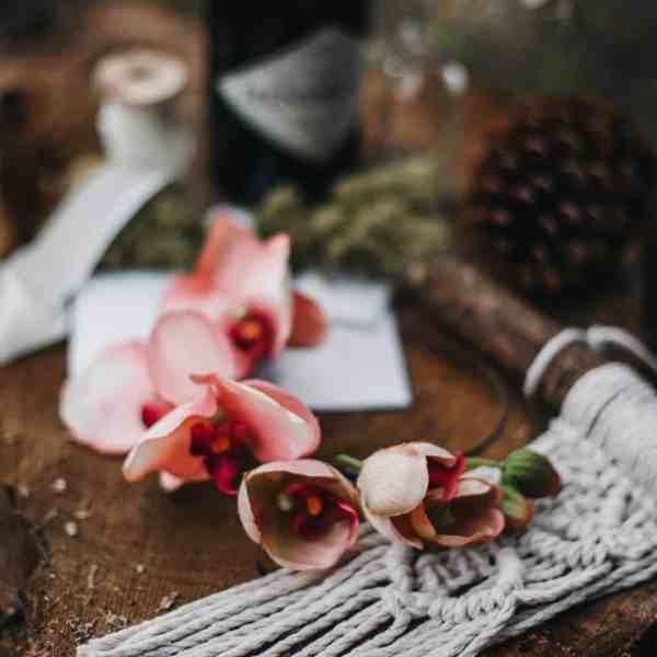 Esme Orchid Headband