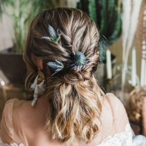Astrid Thistle Wedding Hair Pin