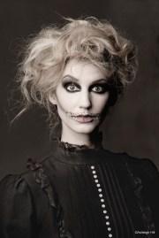 skeleton makeup lunabella