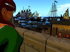 Red hair in Genesian Port
