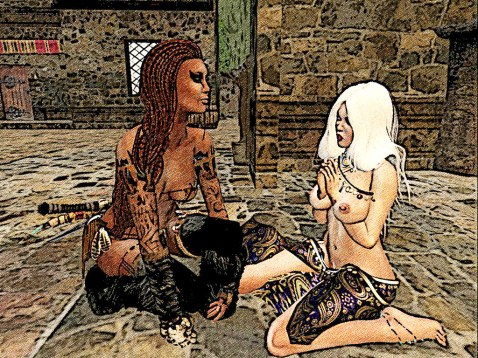 Panther and slave