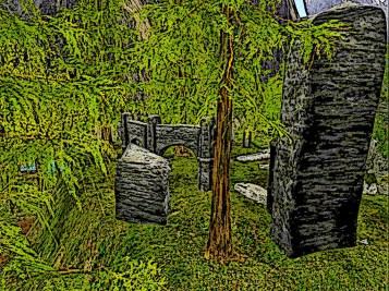 An ancient ruin, what secrets lurk below?
