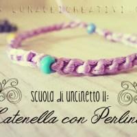 Catenella con Perline - Scuola di Uncinetto - Lezione 11
