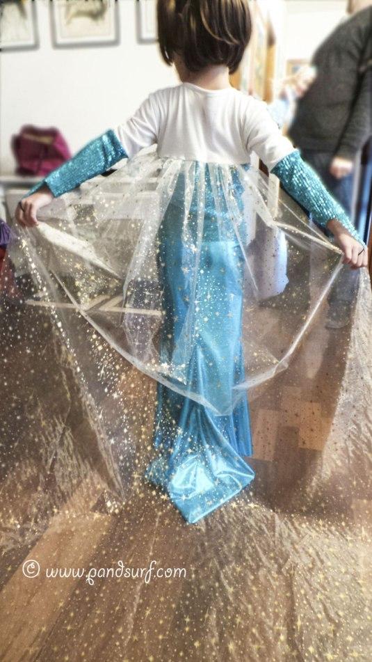 Elsa costume fai da te