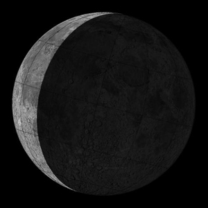 The moon is Waning Crescent on 24 May 2014 Saturday