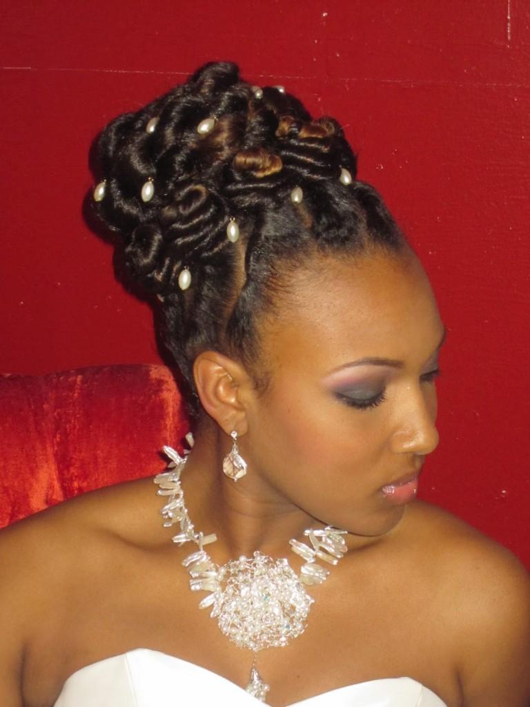 Wedding Hairstyles For Dreadlocks