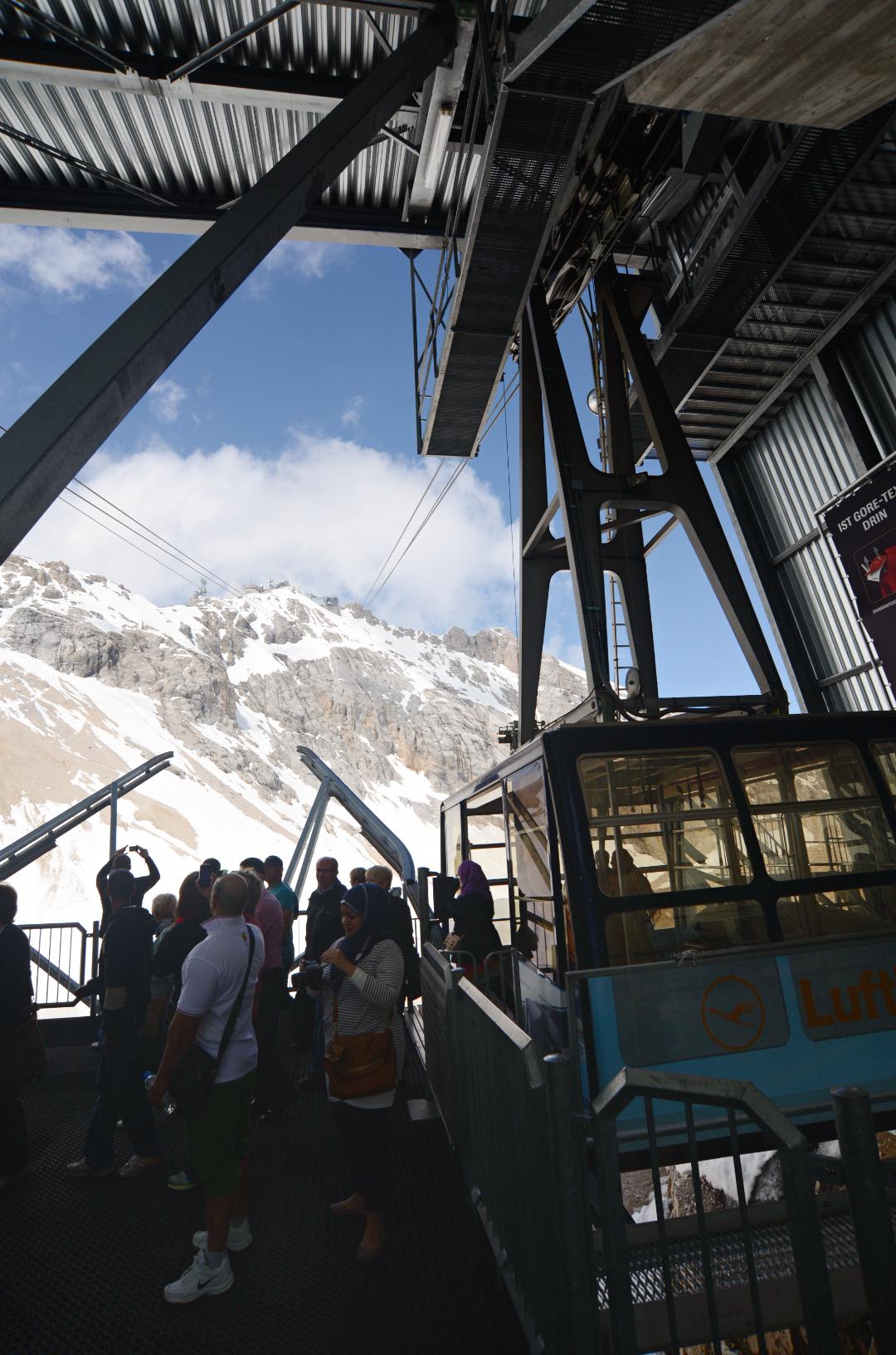 楚格峰 Zugspitze 吊車   LunaLamb 地球遊記