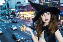 Hayley Johnson, model.