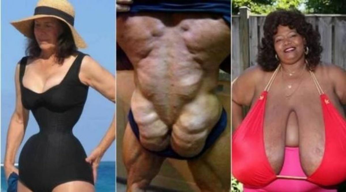 Толстые и худые люди сравнение фото