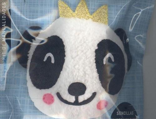 Panda. Manualidades creativas