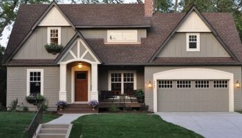 how to pick your spokane exterior house color scheme - Exterior House Colors Blue