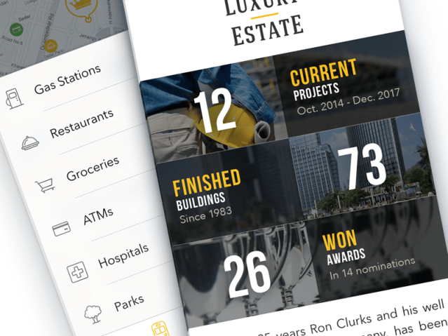 real estate app development