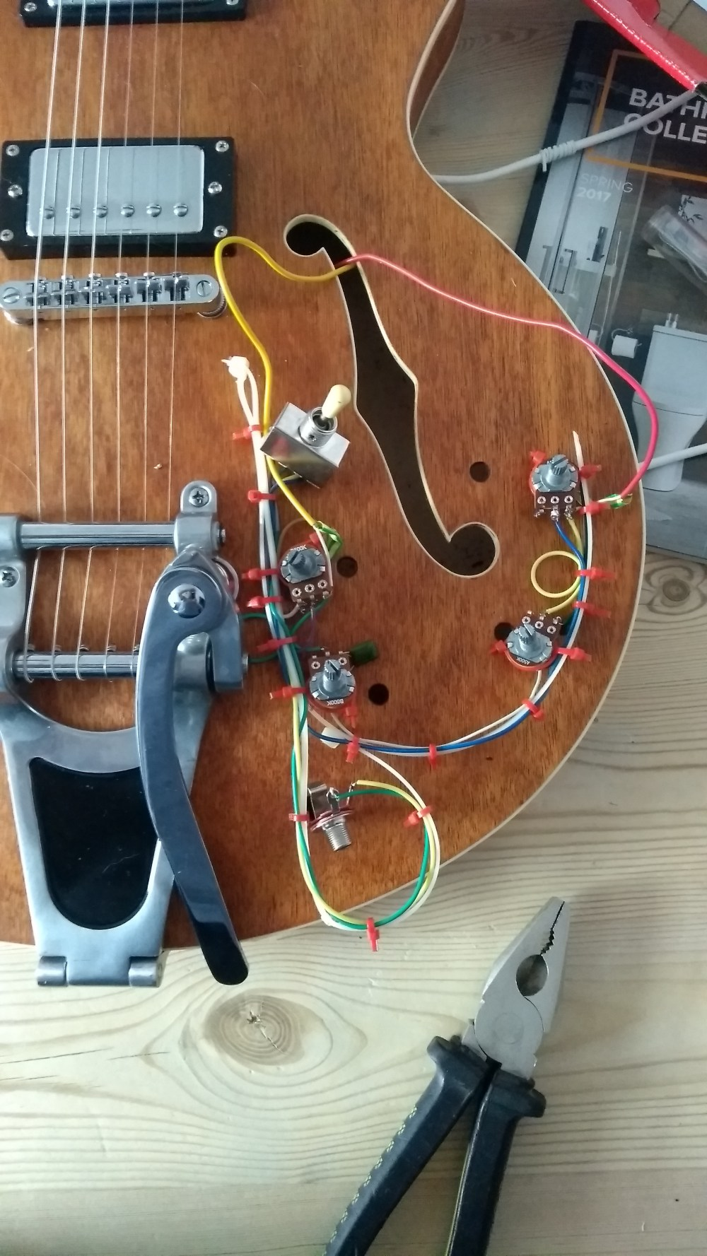 medium resolution of diy guitar u2013 the wiring day 2 u2013 lunarfish