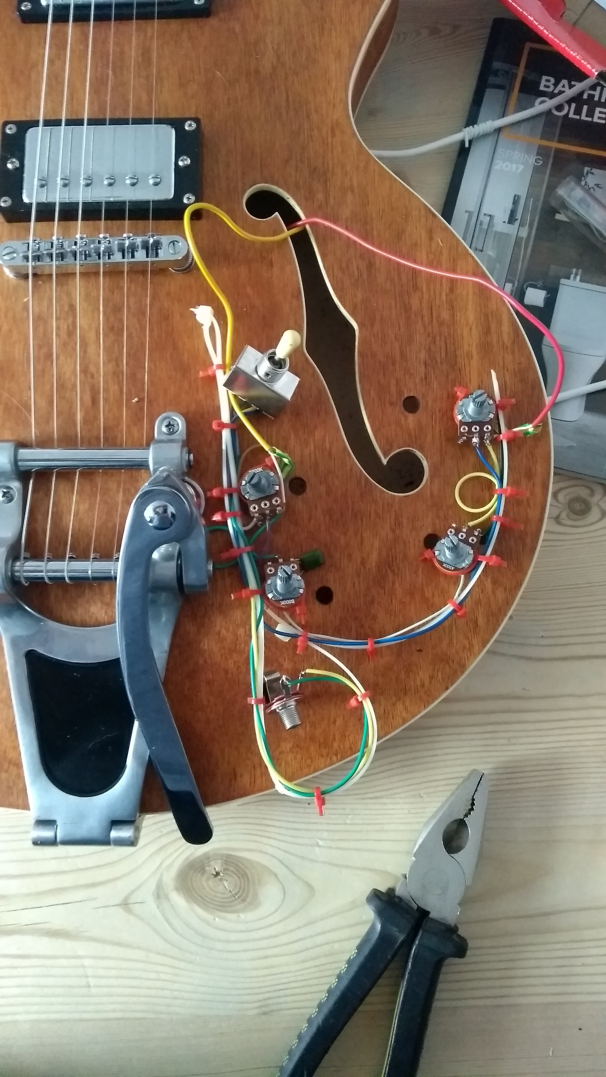 hight resolution of diy guitar u2013 the wiring day 2 u2013 lunarfish