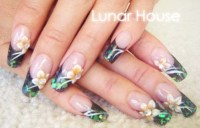 Hawaiian Nails | Lunar House Nails