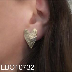 Aros bañado en oro LBO10732